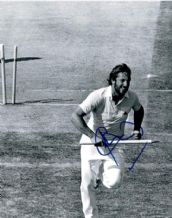 Ian Botham Autograph Photo